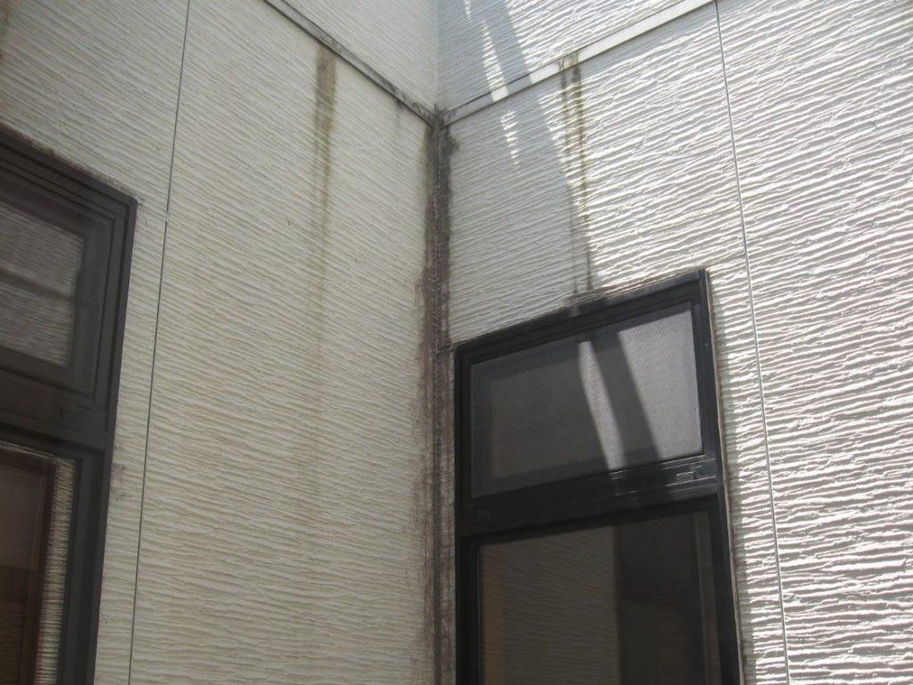 水切りからの雨垂れ(塗装工房)