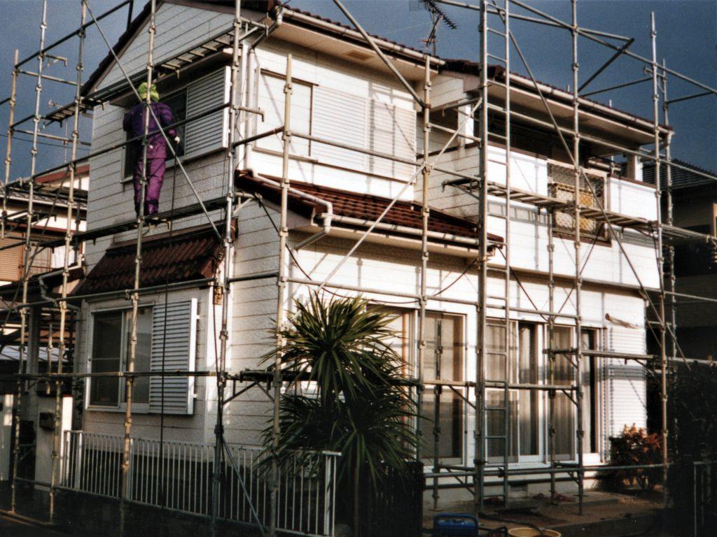 外壁塗装工事前の写真(塗装工房)