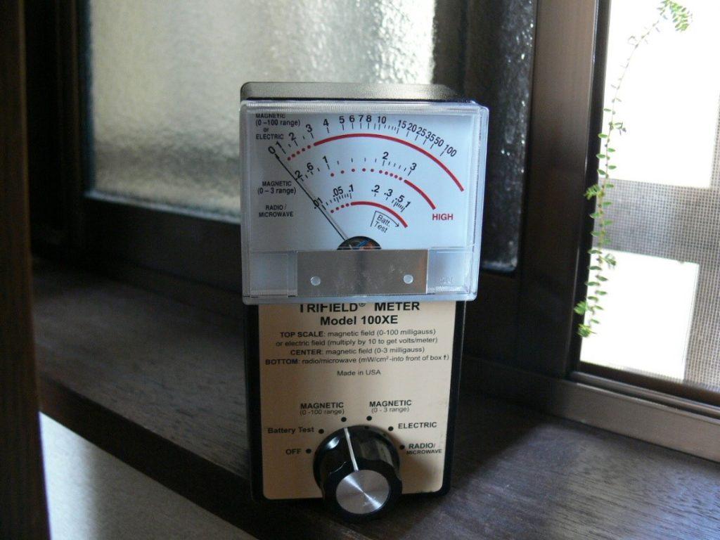 電磁波測定(塗装工房)