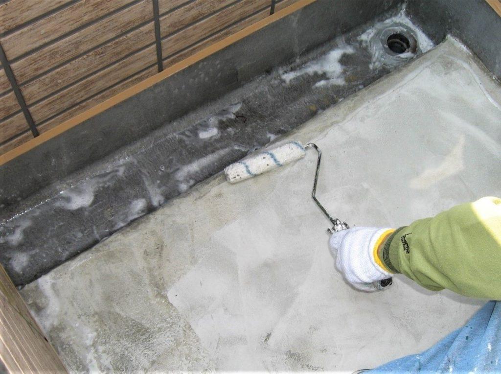 ウレタン防水塗装の写真(塗装工房)