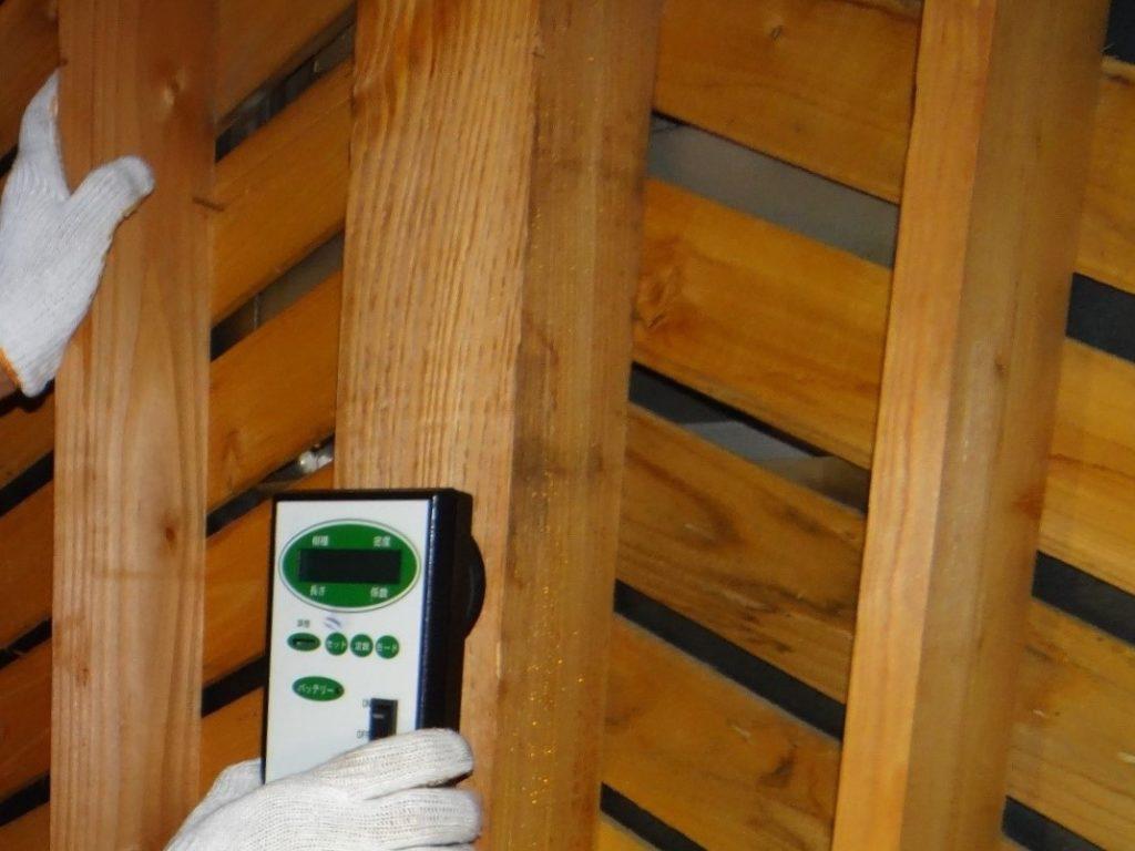 木材の密度調査(塗装工房)