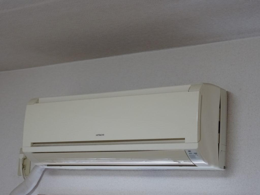 エアコンの写真(塗装工房)