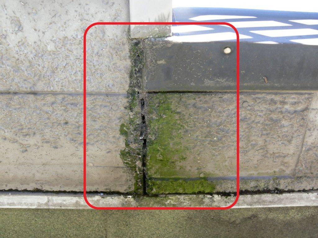 外壁のクラック(塗装工房)
